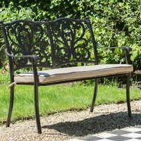 LG Outdoor Devon Bench and Cushion
