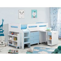 Julian Bowen Kimbo Cabin Bed - Blue