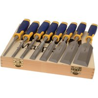 Irwin Marples MS500 ProTouch All-Purpose Chisel Set - 8 Piece