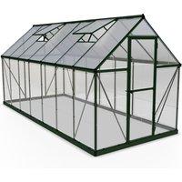 Palram Hybrid Greenhouse 6 x 14 - Green