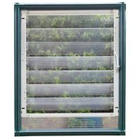 Palram Side Louvre Window - For Eco, Hobby and Grand Greenhouses