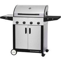 Cadac Entertainer Supreme 4 Burner Gas BBQ - Stainless Steel