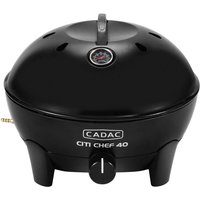"""Cadac Citi Chef 40 Black Gas BBQ Plus 13"""" Pizza Stone"""