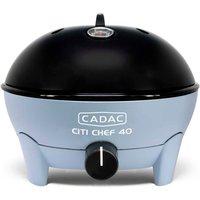"Cadac Citi Chef 40 Sky Blue Gas BBQ Plus 13"" Pizza Stone"