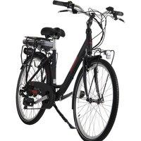 Lombardo Levanzo City Heritage E-Bike 18 inch Frame - Black