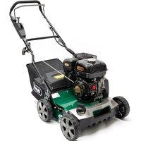 "Webb 40cm (16"") Petrol lawn scarifier with 45 Litre collector"