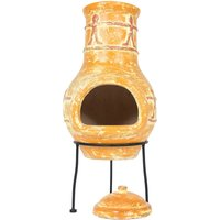 La Hacienda Compaero Small Chimenea - Burnt Orange