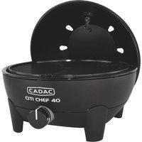 Cadac Citi Chef 40 Black Gas BBQ Plus 36cm Chef Pan