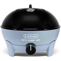 Cadac Citi Chef 40 Sky Blue Gas BBQ Plus 36cm Chef Pan