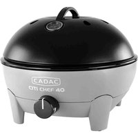 Cadac Citi Chef 40 Flint Grey Gas BBQ Plus 36cm Chef Pan