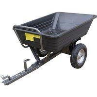 The Handy 295kg (650lb) Poly Body Towed Dump Cart