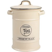 T&G Woodware T&G Pride of Place Tea Canister - Cream