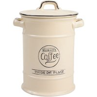 T&G Woodware T&G Pride of Place Coffee Canister - Cream