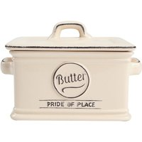 T&G Woodware T&G Pride of Place Cream Butter Dish - 300ml