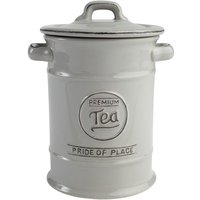 T&G Woodware T&G Pride of Place Tea Canister - Cool grey