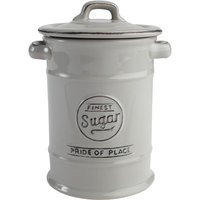 T&G Woodware T&G Pride of Place Sugar Canister - Cool grey