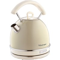 Ariete 1.7L Vintage Dome Kettle - Cream