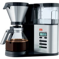Melitta AromaElegance DeLuxe Coffee Maker - Silver and Black