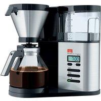 Melitta AromaElegance DeLuxe Coffee Maker - Silver & Black