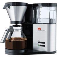 Melitta AromaElegance Coffee Maker - Black & Silver