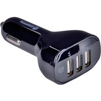 Griffin 3-Port 4.8A USB Car Charger - Black