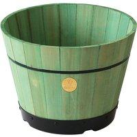 VegTrug Small 37cm Barrel Tapered Planter - Sage Green
