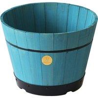 VegTrug Medium 46cm Barrel Tapered Planter - Powder Blue