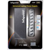 Infapower 90W Universal Laptop Automatic Power Supply