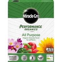 Miracle-Gro Performance Organics All Purpose Granular Food - 1kg