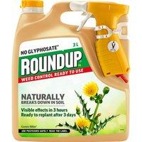 Roundup Natural weedkiller 3L RTU