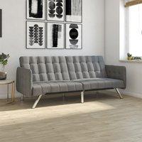Dorel Emily Convertble Sofa - Grey Linen