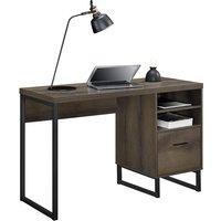 Dorel Candon Desk - Brown