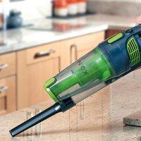 Maxi Vac 800W 2-in-1 Stick Vacuum Cleaner - Grey & Green