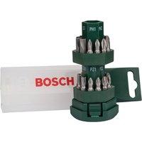Bosch 25-Piece Screwdriver Bit Set - Green & White