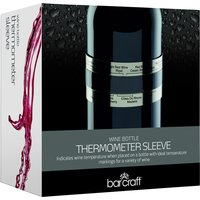 KitchenCraft BarCraft Deluxe Wine Bottle Thermometer Sleeve
