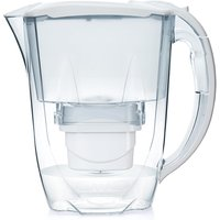 Aqua Optima Oria Water Filter Jug including 1 x 30 Day Evolve+ Water Filter Cartridge - White