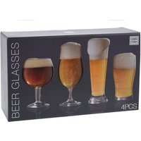 Valetti Artisan Beer Glasses - Set of 4