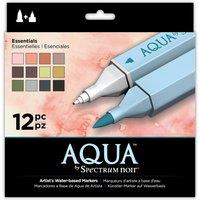 Aqua by Spectrum Noir 12 Pen Set - Essential