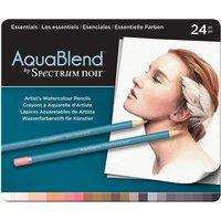 AquaBlend by Spectrum Noir 24 Pencil Set - Essentials
