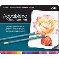 AquaBlend by Spectrum Noir 24 Pencil Set - Naturals