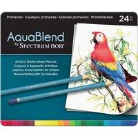 AquaBlend by Spectrum Noir 24 Pencil Set - Primaries