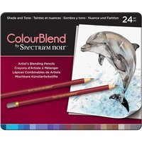 ColourBlend by Spectrum Noir 24 Pencil Set - Shade and Tone