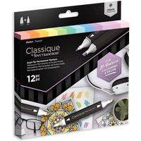 Classique by Spectrum Noir 12 Marker Set - Pastel
