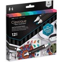 Classique by Spectrum Noir 12 Marker Set - Jewel