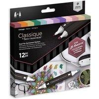 Classique by Spectrum Noir 12 Marker Set - Vintage