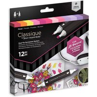 Classique by Spectrum Noir 12 Marker Set - Floral