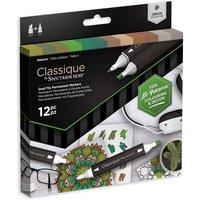 Classique by Spectrum Noir 12 Marker Set - Nature