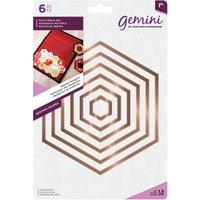 Gemini - Multi Media Die - Nesting Hexagons