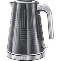 Russell Hobbs 1.7L Geo Kettle - Steel Grey