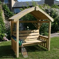 Charles Bentley FSC Timber Herefordshire Arbour